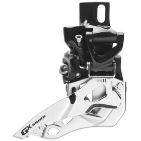 SRAM GX Forskifter 2x11-speed High Direct Mount Top Pull sort/sølv